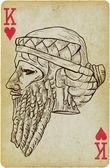 Gilgamesh - o rei de uruk — Vetorial Stock