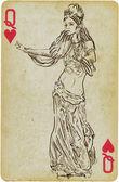 Dança princesa — Vetorial Stock
