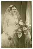 Wedding day - Bride (Portrait) — Stock Photo