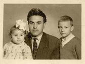 Padre e figli — Foto Stock