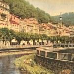 Spa Resot - Karlovy Vary city — Stock Photo