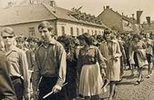 May Day parade — Stock Photo
