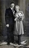 Día de boda - novios — Foto de Stock