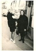 Dwie kobiety i dziecka — Zdjęcie stockowe