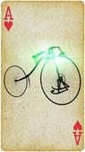 Vieja bicicleta — Foto de Stock