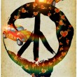 Be hippie — Stockfoto