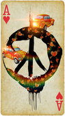 Be hippie — Stock Photo