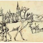 Santa Claus - Before Christmas — Stock Vector #30315833