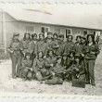 Women in military uniform — Stock Photo #36674449