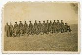 Grupo de soldados — Foto de Stock