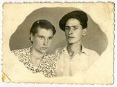 若い男性と若い女性 — ストック写真
