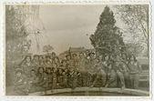 Группа солдат (женщины) — Стоковое фото