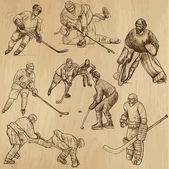 Ice Hockey — Stockvektor