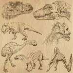 Dinosaurs — ストックベクタ #44142727