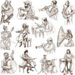 Musicians no. 2 — Stock Photo #46137813
