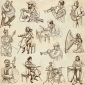 Musicians no. 2 — Stock Photo