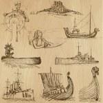 Ships and Boats no. 2 — Stock Vector #46178335