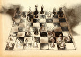 The World's Great Chess Games: Anderssen - Dufrusne — Stockfoto