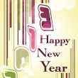 Happy New Year greeting card 2013 . — Stock Vector #16885007
