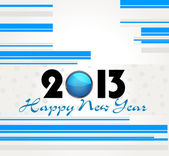 New year 2013 design/ greeting card, vector eps10 — Stock Vector