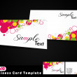 Business Card Template. eps10 for print — Stock Vector #17586831