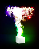 Abstract beautiful background with many brightness. Fantastic ve — Stockvektor