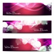 Vector website header or banner set. EPS 10. — Stock Vector #25561155