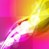 Abstract beautiful background with many brightness. Fantastic ve — Vettoriale Stock