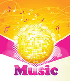 Abstract party background for music event . — Stock Vector