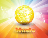Abstract party background for music event . — Stockvektor