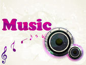 Abstract party background for music event . — 图库矢量图片