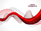 Abstract wave background composition Can be used for flyers and — Stock Vector