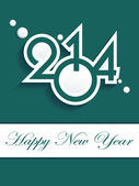 New year 2014 background. Vector illustration — Stock Vector