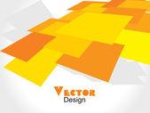 Renkli arka plan mozaik desen tasarımı, vektör çizim — Stok Vektör