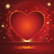 Abstract Vector Heart for Valentines Day Background — Stock Vector #39671903