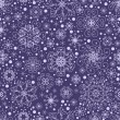Seamless snowflakes background — Stock Vector #17823065