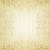 Vintage frame and grungy paper for design — Stock Vector