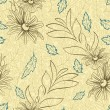 Seamless floral texture — Stockvectorbeeld