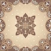 Vector floral arabesque ornament — Stock Vector