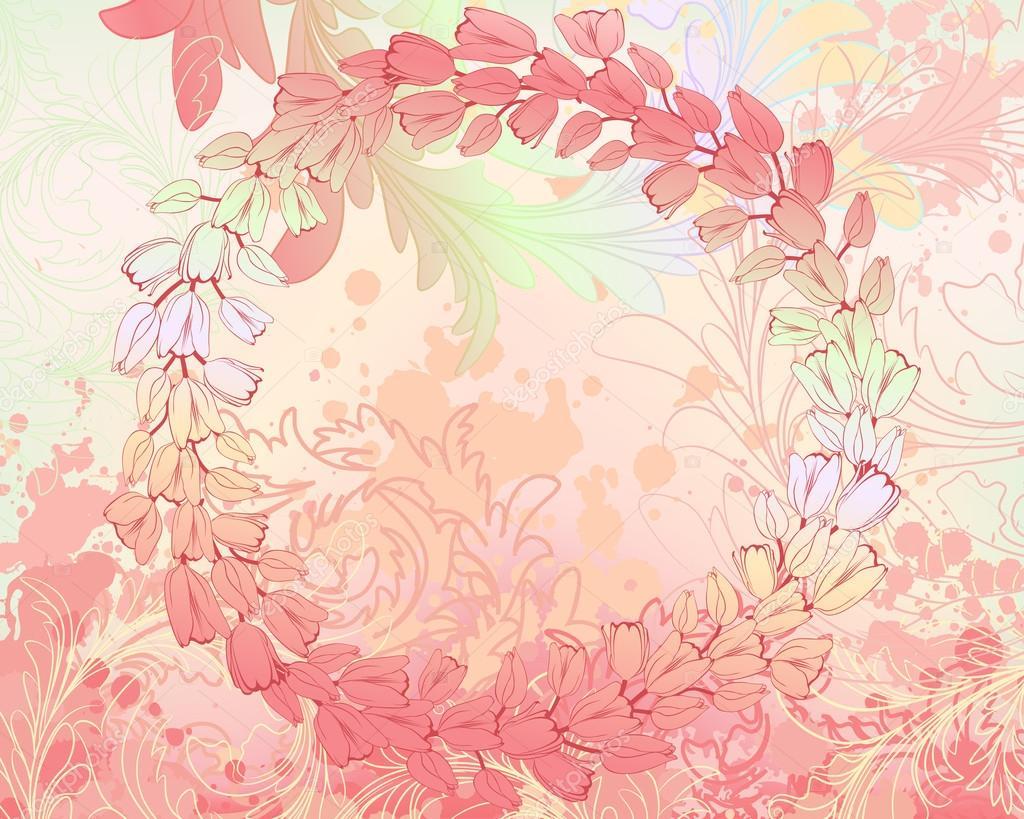 illustration soft floral -#main