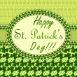 St. Patrick's day invitation — Stock Vector