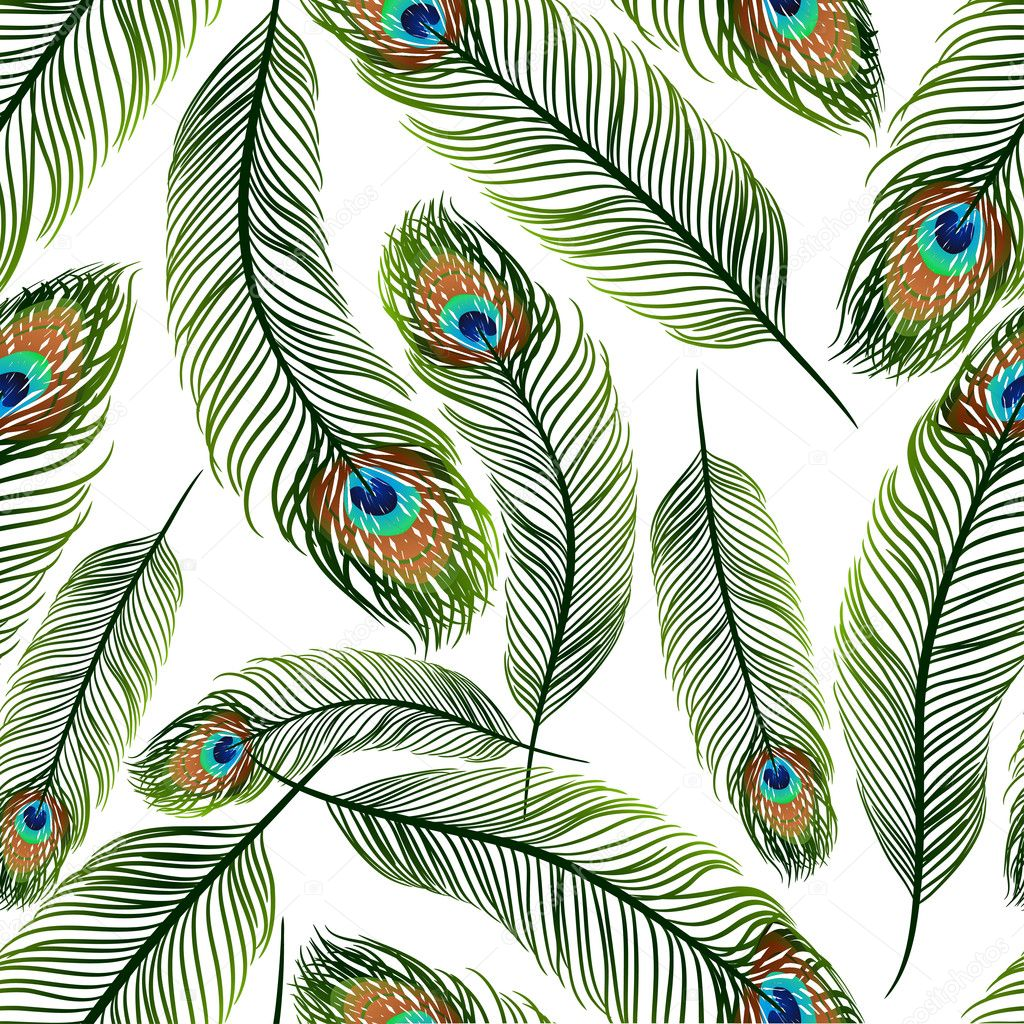Similar images to Seamless feather texture pattern