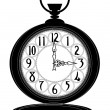 Pocket watch — Imagen vectorial