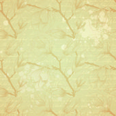 Vintage seamless pattern with magnolia flowers — Stock Vector
