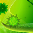 Abstract green background - Vettoriali Stock