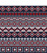 Knitted background in Fair Isle style in three colors — Vetorial Stock