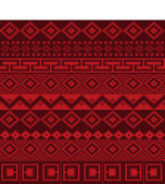 Knitted background in Fair Isle style seamless — Stock Vector