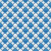 Blue and white seamless volume texture — Stock Vector