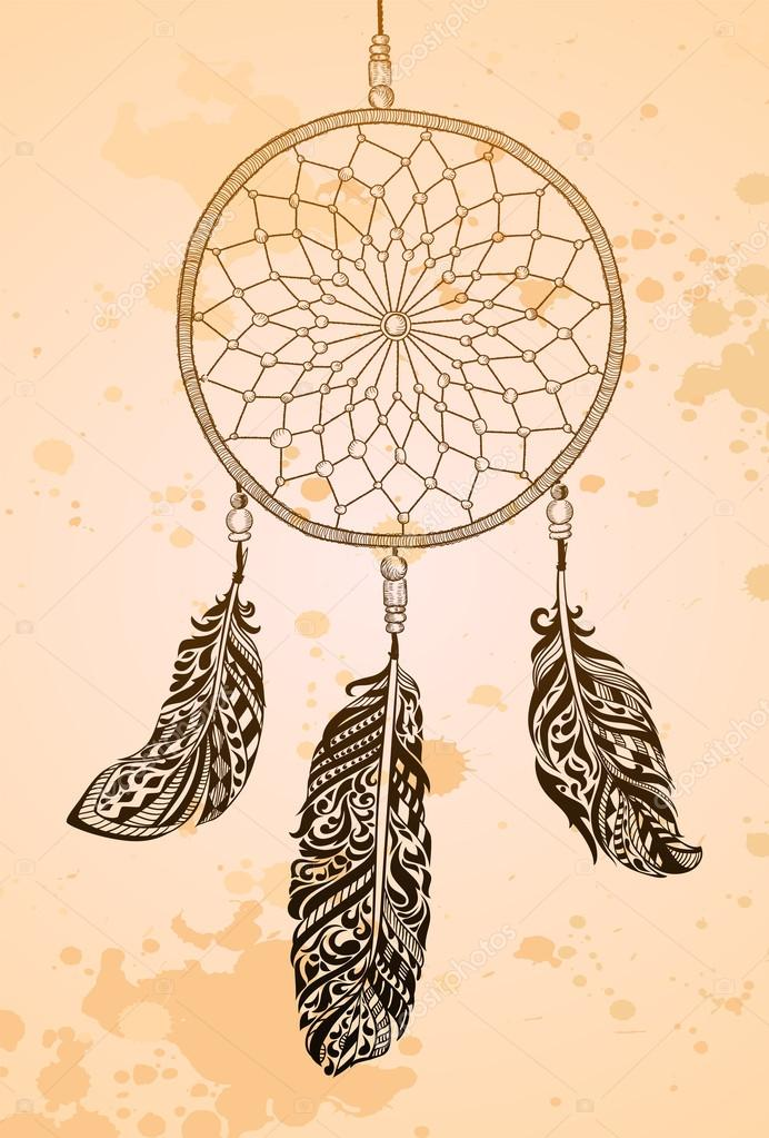 how to make a vintage dream catcher