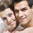 Close-up Couple — Stock Photo